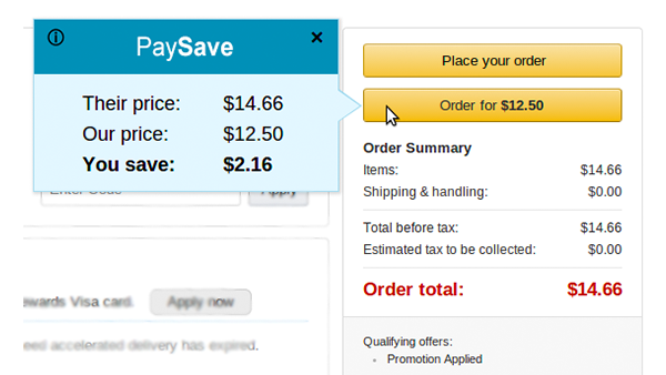 paysave saves you money on all purchases